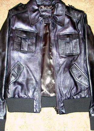 Распродажа! закрытие магазина! итальянская куртка. экокожа. новая.