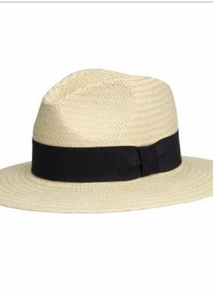 Стильная шляпа пляжная h&m p l