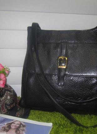 Кожаная сумка  итальянский бренд нат. кожа