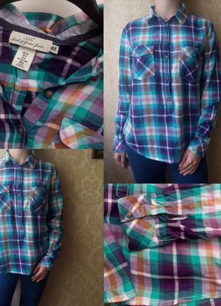 Рубашка в клетку / сорочка