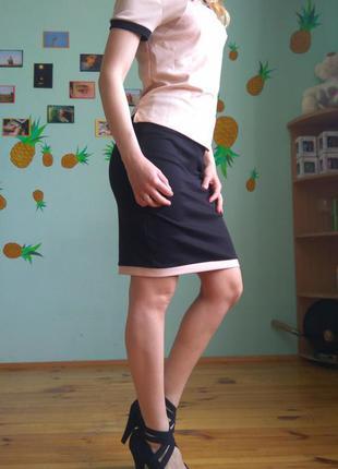 Костюм. блуза + юбка