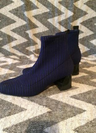 Ботинки-чулки zara