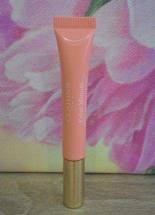 Выравнивающий блеск для губ clarins (02 apricot shimmer)