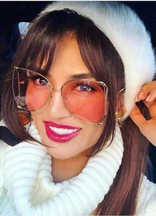 Новинка 2018 красивейшие очки в форме бабочки