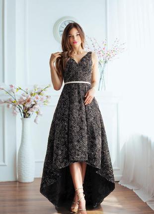 Роскошное вечернее платье от calvin klein оригинал!