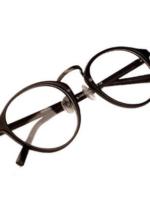 Стильная, модная, круглая оправа, очки