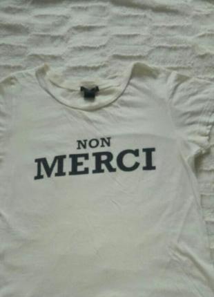 Белая футболка forever 21