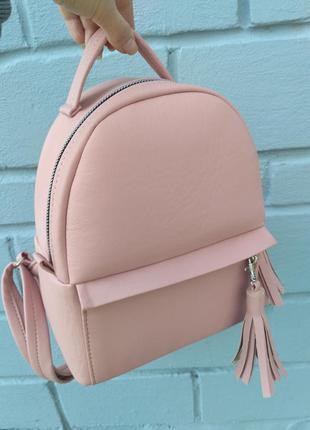 Эксклюзивный крутой рюкзак ручной работы, экокожа