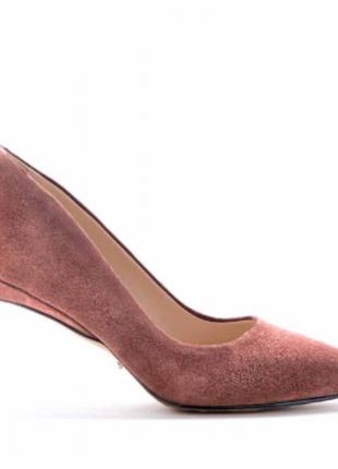 Женские туфли лодочки modus vivеndi натуральная замша 36