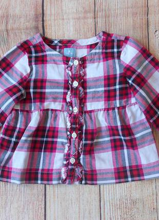 Рубашка блузка на девочку gap 1,5-2года.