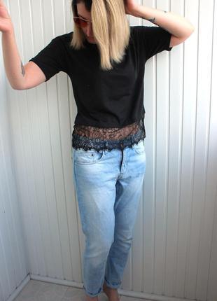 Классные джинсы бойфренд на лето h&m