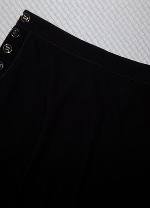 Юбка миди, очень стильная с карманами и красивыми пуговками4