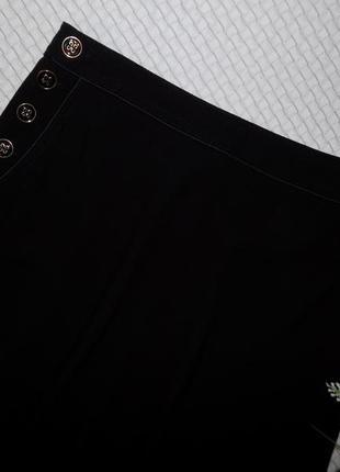 Юбка миди, очень стильная с карманами и красивыми пуговками5