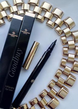 Карандаш-подводка для глаз «каллиграфия» giordani gold. черный