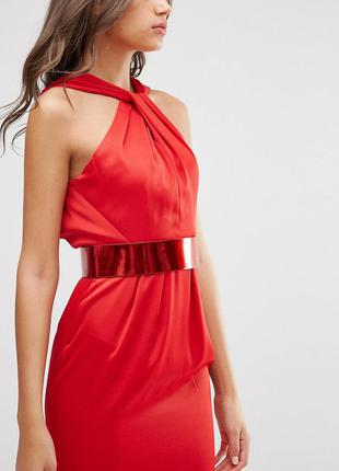 Asos сексуальна сукня-футляр широкий пояс доставка сутки