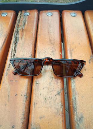 Солнцезащитные очки(ретро) леопардовые