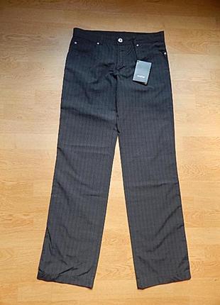 Новые мужские  брюки ostin , 100% хлопок , размер s (46)