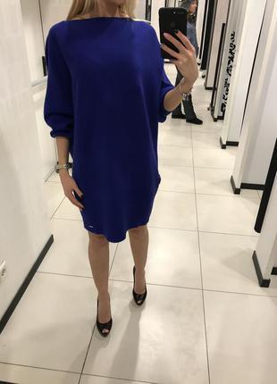 Платье-свитер mohito. платье вязаное оверсайз, туника. хс-хл