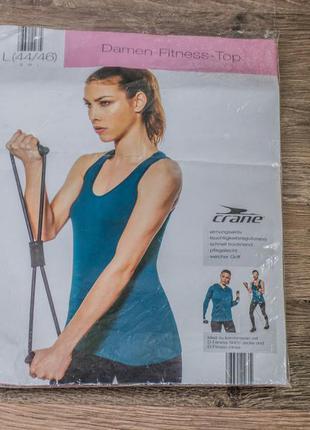 Новая женская фитнес майка crane®