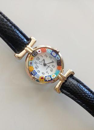Муранским стеклом стоимость часы с часы наручные где продать