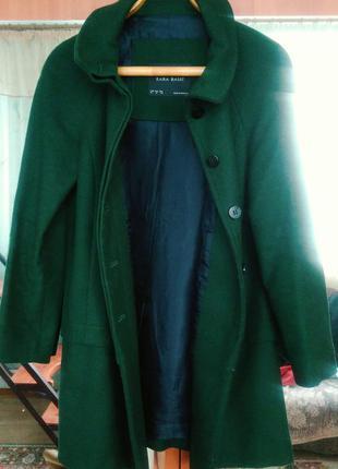 Новенькое пальто zara. размер oversize, с-л
