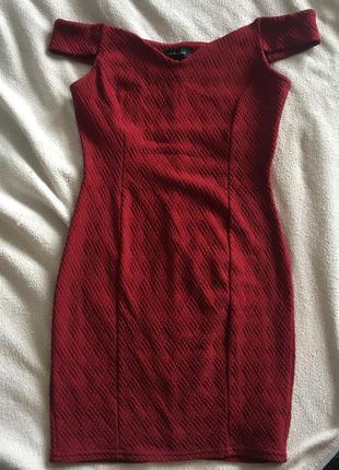 Красное платье вечернее new look