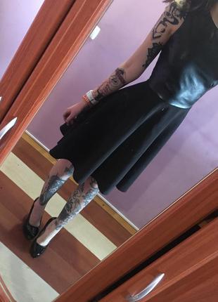 Платье из кож зама  house
