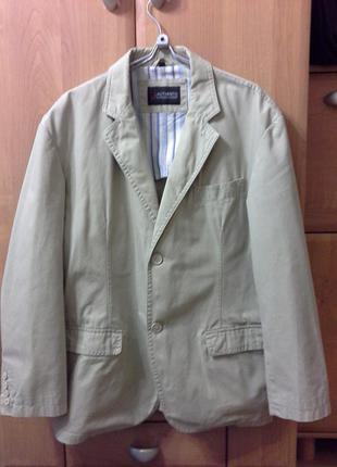 Пиджак-куртка светлый
