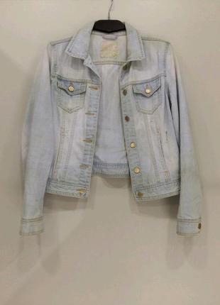 Крутая джинсовая куртка от denim co ; zara; h&m; levi's