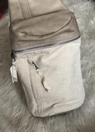 Мужской рюкзак-трансформер zara