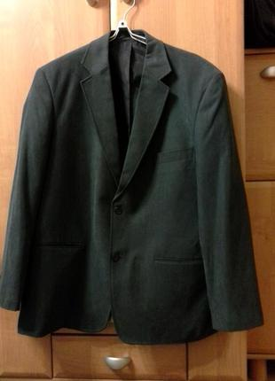 Пиджак мужской , бутылочно-серого цвета