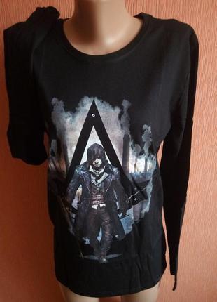 Реглан стильный для подростков!бренд assassin's creed