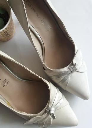 Базовые туфли лодочки на низком  tamaris
