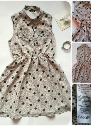Неймовірне плаття в горох/платье