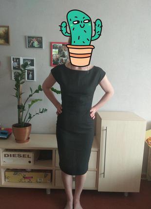 Платье футляр zara woman