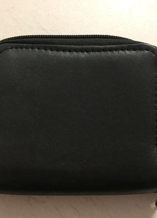 Кожаный кошелёк, портмоне, визитница