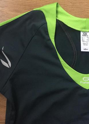 Крутая майка футболка для фитнеса спорта kalenji