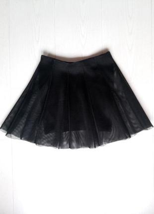 Многослойная юбка- трапеция tally weijl