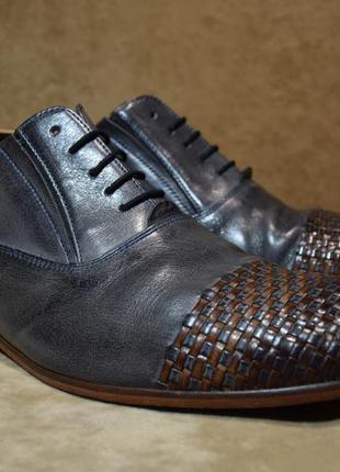 Оксфорды melvin & hamilton туфли мужские брендовые. оригинал. 46 р./30 см.