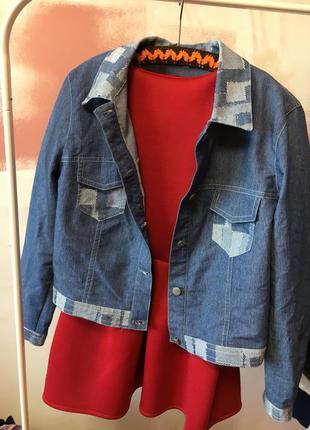 Джинсовка на пуговицах, куртка ветровка s-l джинсовая джинс