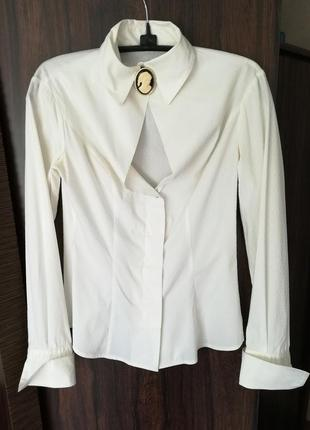 Стильная рубашка sisley р.s