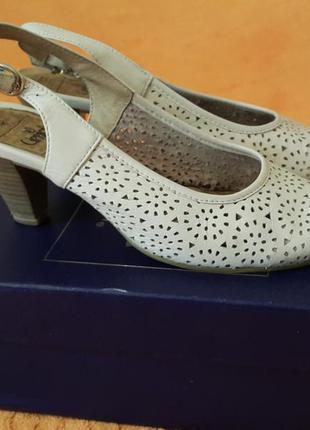 79903dd36 Caprice туфли летние белые caprice немецкие кожа босоножки каприз ...
