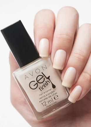 Лак для ногтей avon - creme brulee