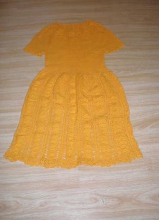 Платье супер  вязаное
