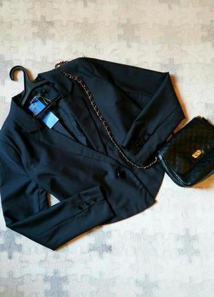 Укороченный асимметричный пиджак  жакет от top secret