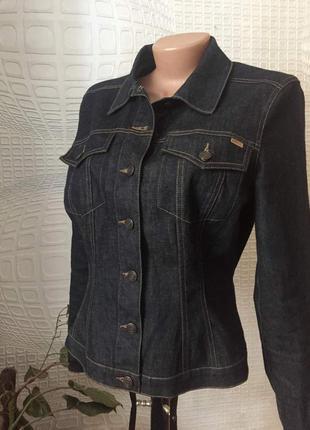 Брендовая джинсовая куртка от mexx (оригинал)