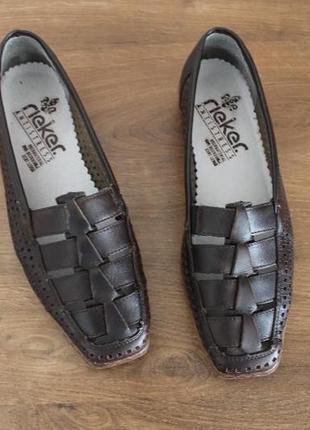 Туфли rieker antistress, 38 размер