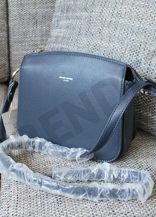 Бесплатная доставка #5721 blue david jones женский клатч кроссбоди на три отделения!