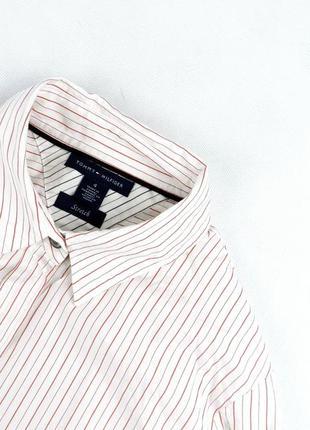 Рубашка tommy hilfiger в полоску