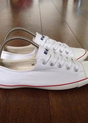Кеды белые converse (оригинал) р. 38, 24 см.